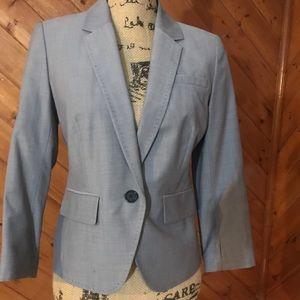 LOFT lightweight Spring grey tailored blazer